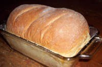 Bake some bread!  I found an easy and frugal recipe!