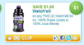 Save $1 on Welch's Juice