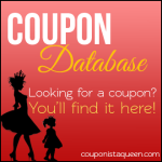 Couponista Queen's Searchable Coupon Database