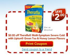 Get Theraflu at Walgreens 2/$1.00 deal starts 9/25!
