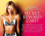 victorias secret reward card