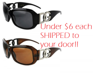 Deal | 2 Pair of DG Sunglasses under $6 each Shipped!! image