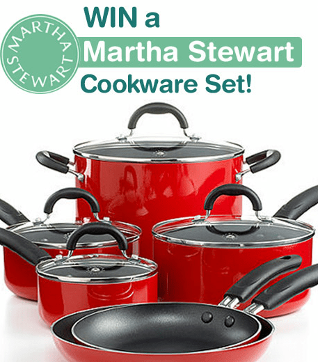 Win | a Martha Stewart Cookware Set! image