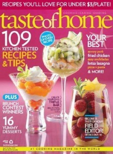 Deal | Taste of Home magazine subscription $3.99/year image