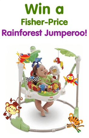 WIN | The Rainforest Jumperoo from Fisher Price image