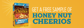FREE | Sample of Honey Nut Cheerios image