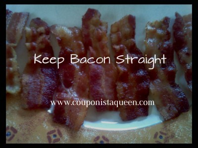 Tip to Keep Bacon Straight while you fry it