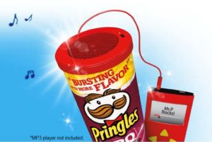 FREE | Pringles Can Speaker image