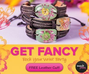 FREE | Cute Leather Cuff for new Sneakpeeq members image