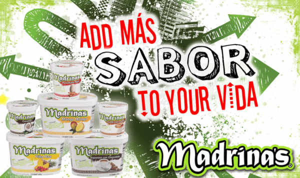 Madrina's Ice Cream ~ Add Mas Sabor To Your Vida