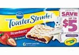 Extreme Deal | 3 boxes of Pillsbury Toaster Strudel for $0.25 TOTAL