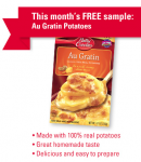 Betty Crocker October Sample
