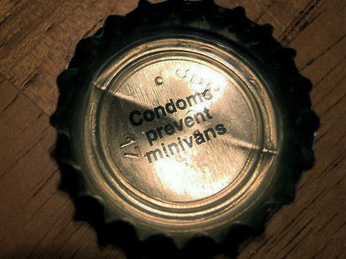 Condoms Prevent Minvans cap