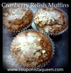 Cranberry Relish Muffins