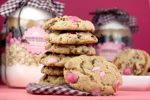 5 Cookie Mixes in a Jar!