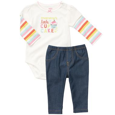 Carter's® Bodysuit Pant Set   6 24m $6 and Free Ship to Store! image
