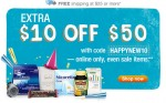 10 off 50 at Walgreens