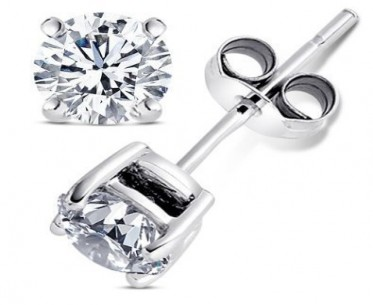 2.00 Carat Cubic Zirconia Earrings, $5.99 SHIPPED! image