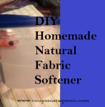 DIY Homemade Natural Green Fabric Softener
