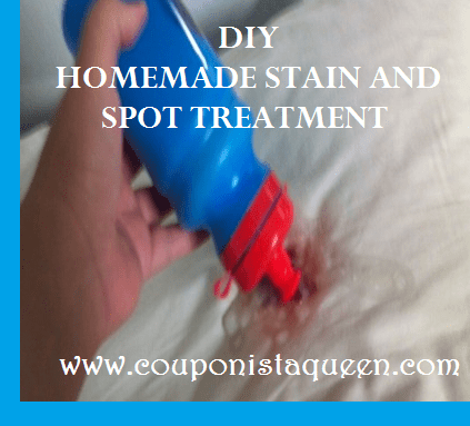 DIY Homemade Stain and Spot Treatment image