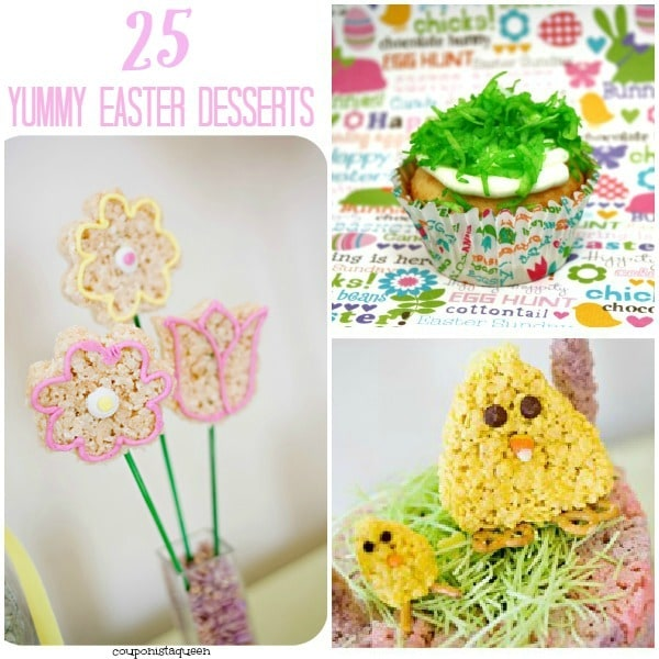 25 More Awesome Easter Dessert Recipes