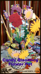 Candy Blooming Flower Pot Craft