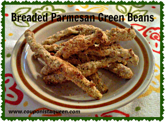 Breaded Parmesan Green Beans