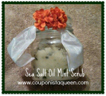 DIY Sea Salt & Olive Oil Exfoliating Scrub, the 99 Cent Store Version!  Beauty on a Budget