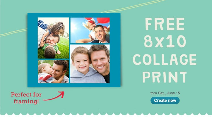 Score a FREE 8×10 Photo Collage from Walgreens