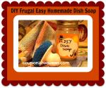 DIY Dish Soap Recipe – Homemade, Frugal, and Easy!