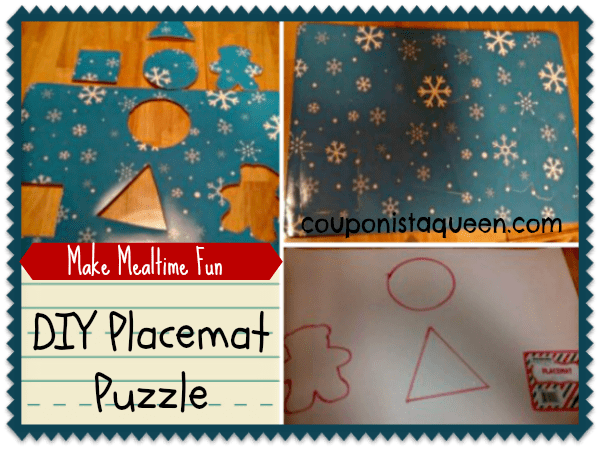 Busy Kids, Happy Meals – Make a DIY Placemat Puzzle Craft