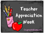 Say Thanks!  Teacher Appreciation Week Deals and Freebies