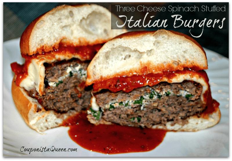 Three_Cheese_Spinach_Stuffed_Italian_Burgers