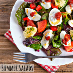 Fresh Dill and Egg Summer Salad recipe plus 25 more Summer Salads that you will want to eat