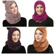 HOT Deal!  Knit Crochet Hooded Infinity Scarf 40% OFF!