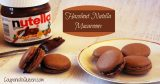 Hazelnut Nutella Macaroon Cookie Recipe