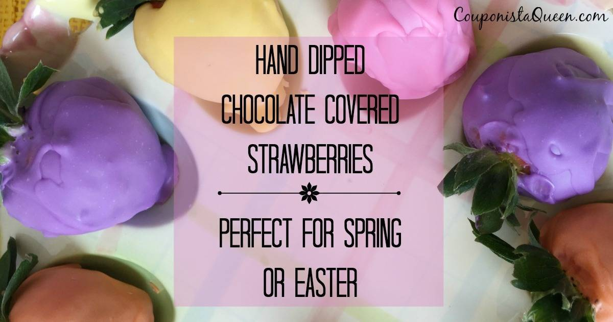 Hand Dipped Chocolate Covered Strawberries fb