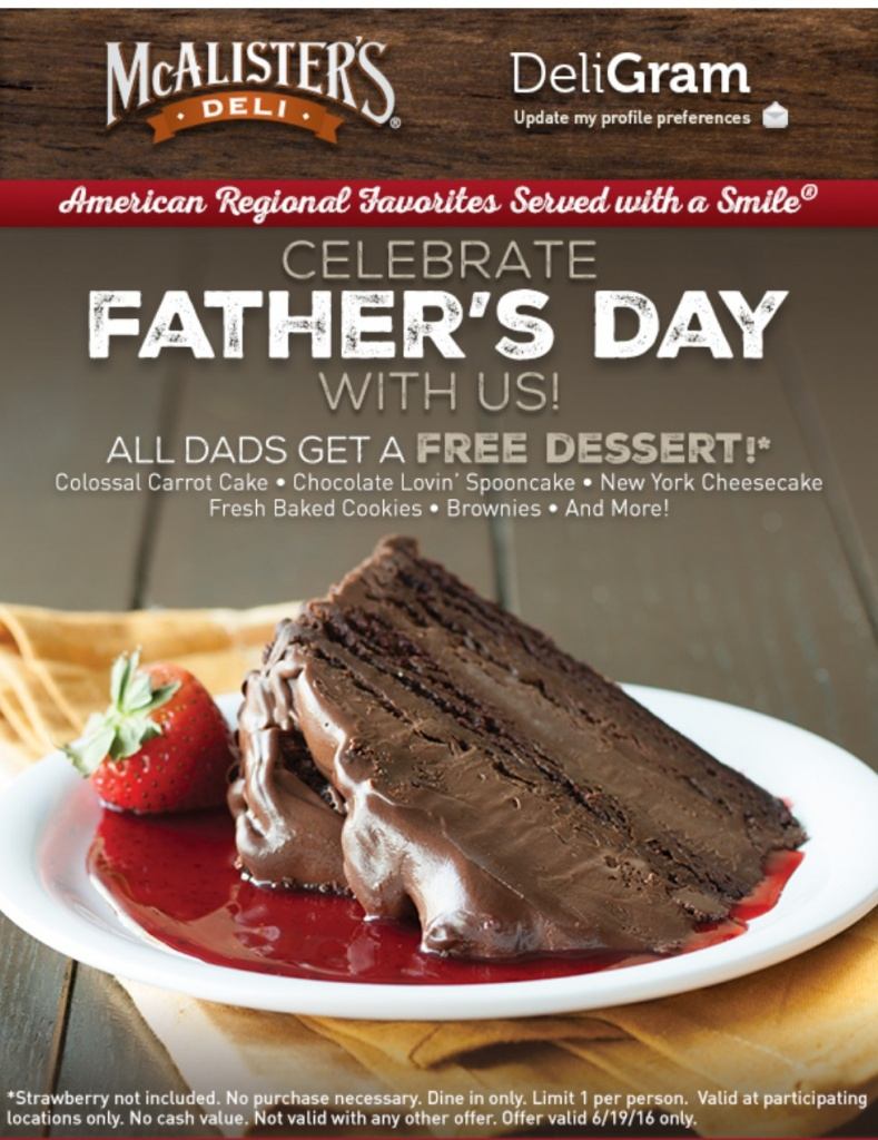 mcalisters fathers day