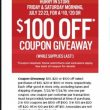 JCPenney $100 Coupon Giveaway!!