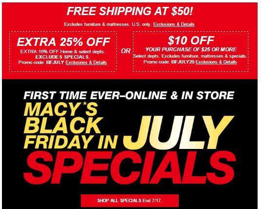 Macys free shipping coupon code