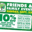 TODAY! DOLLAR TREE Friends & Family Event! 10% Off a $10 or More Purchase!