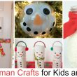 15 Snowman Crafts For Kids and Adults