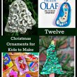 12 Christmas Ornaments for Kids to Make