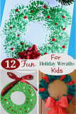 12 Fun Holiday Wreaths to Craft With Kids