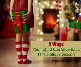 5 Ways Your Child Can Give Back This Holiday Season