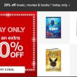 TODAY ONLY! 20% Off Music, Movies & Books at Target!