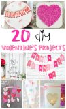 DIY Valentine's Day Craft and Decor Projects