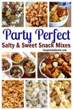 Party Perfect Salty and Sweet Snack Mixes