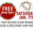 Kmart Saturday Kid Freebie – FREE Jump Rope