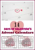 Printable just for you! 14 Days of Valentine's Calendars for Him and Her